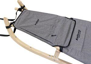Kathrein Spritzschutz und Sitzverlängerung mit Tasche Schlitten , Farbe:retro grau