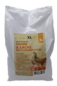 7,5kg FutterXL Kitten Huhn & Lachs mit Süßkartoffel