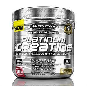 MuscleTech Platinum 100% Creatine, 400g