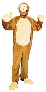 Affe Herren Kostüm als Schimpanse zu Karneval Fasching