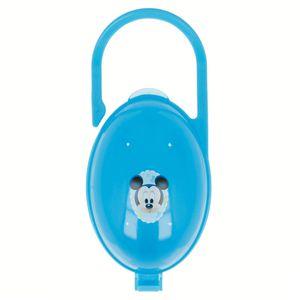 Disney Baby Mickey Mouse Schnullerbox mit Aufhängung blau