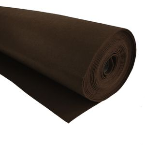 Bastelfilz 1m Meterware Filz 90cm x 1,5mm Dekofilz Taschenfilz Filzstoff 39 Farben, Farbe:dunkelbraun