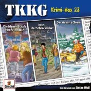 TKKG - Krimi-Box 23 (Folgen 187, 188, 189)