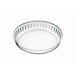 Simax Tortenbodenform Borosilikatglas geriffelt Durchmesser 28cm