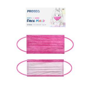 Kinder OP Masken Mundschutz Maske für Kids Typ IIR Medizinisch-Pink