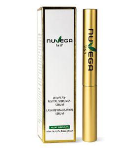 NuVega Lash Eyelash - Vegan hergestelltes Wimpernserum - Für lange gesunde Wimpern - 1 ml