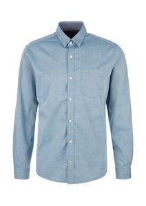 S.oliver Herren Hemd 2056210 Blau