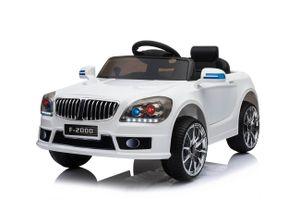 B-Sport Kinderfahrzeug Kinder Elektroauto Elektrofahrzeug mit Fernbedienung weiß