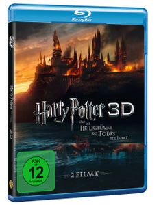 3D Blu-ray Harry Potter und die Heiligtümer des Todes 1+2