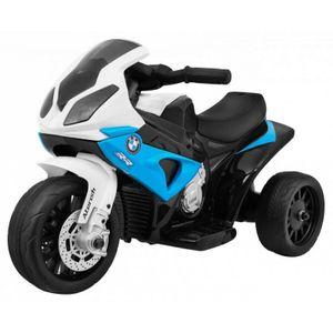 E Street Bike BMW S1000 RR blau 6V 4AH Ledersitz