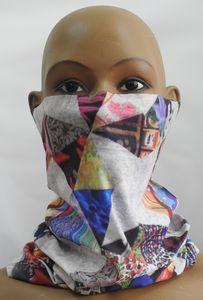 Multifunktionstuch Halstuch Schlauchschal Atmungsaktiv Gesichtschutz Mundschutz Gesichtmaske Abstrakt 3 M25
