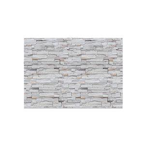 45cmx10m 3D Steinwandoptik Selbstklebende Fliesenaufkleber Wandtattoo Dekofolie