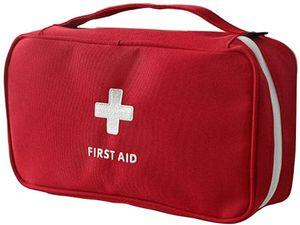 Erste Hilfe Tasche Leer Reiseapotheke Tasche Medikamententasche Reise Sanitätstasche 24 * 13 * 8 cm
