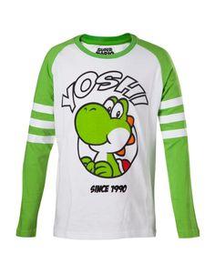 Nintendo langarm Shirt (Kinder) -98/104- Yoshi