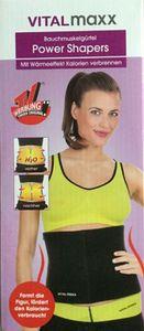 Vitalmaxx Bauchmuskelgürtel Power Shapers
