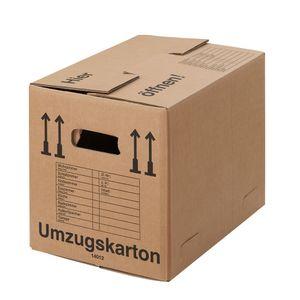 15 Umzugskartons Compact 2-wellig 40kg Umzugskiste