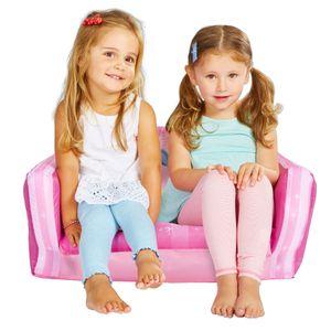 Worlds Appart Disney Prinzessin - Ausziehbares Minisofa – Aufblasbares Sofa und Liegestuhl (2-in-1), 286DPE