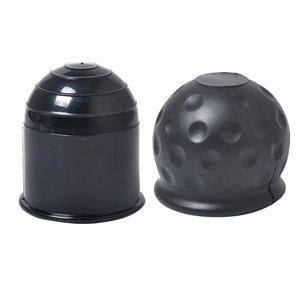 2 Stück Auto Tow Bar Ball Abdeckkappe Anhängerkupplung Abdeckung Schutzkappe für Kugelkopf
