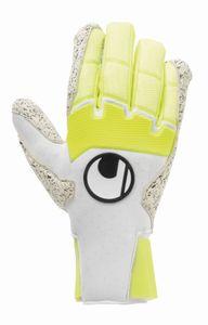 uhlsport Pure Alliance Supergrip + HN Torwart Handschuhe - weiß/gelb 11