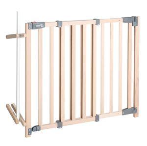 Treppenschutzgitter 'Safety Up', barrierefreies, automatisches Schutzgitter mit Ampelfunktion