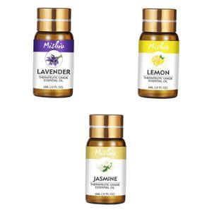 3 Flasche reines ätherisches Öl (Lavendel / Zitrone / Jasmin)