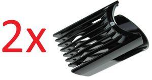 2x Panasonic WERGC50K7458 Kammaufsatz für ER-GC50, ER722 Haar-/Bartschneider