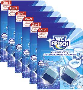 WC FRISCH Duo-Aktiv 6er Pack Reinigungswürfel Wasserkästen 6x2 Stück WC Reiniger
