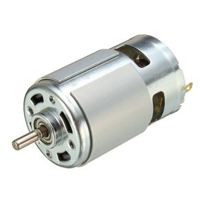 775 DC 12 V-36 V 3500-9000 RPM Motor Kugellager Grosse Drehmoment High Power Geraeuscharm DC Motor Zubehoer Stromversorgung