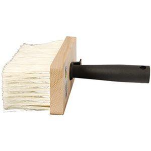 Deckenbürste 170x70 mm Kunstborsten dunkel, Holzkörper