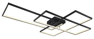 Globo Lighting GABRIEL Deckenleuchte Metall schwarz matt, 1xLED, 67227-100B