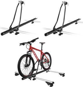 2x Fahrradträger Eurobike Fahrraddachträger Fahrrad Relingträger Dachbefestigung