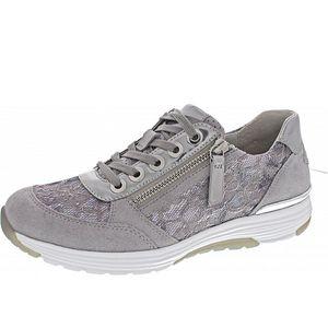 Gabor Comfort Sneaker grau Größe 4.5, Farbe: cielo/light grey