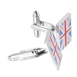 Großbritannien Großbritannien Flagge Union Jack Manschettenknöpfe Herrenhemden Manschettenknöpfe