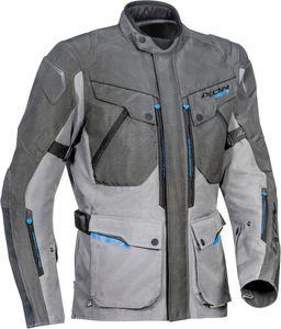 Ixon Crosstour HP Motorrad Textiljacke Farbe: Dunkelgrau/Hellgrau, Grösse: L