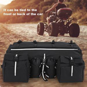Gepäcktasche Quad ATV Cargo Bag Gepäckkoffer Transportbox Reisetasche Softtasche Oxford Stoff 68x27x21cm Abnehmbar