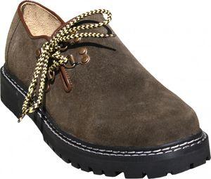 Trachtenschuhe Haferlschuhe Trachten Schuhe aus Wildleder & Gummisohle, Schuhgröße:45