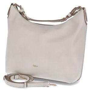 Gabor Beuteltasche Sina Hobo bag Größe 1, Farbe: off white