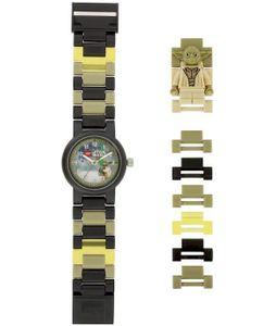 LEGO Star Wars: Yoda ? Uhr dunkelgrün