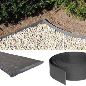 Rasenband Rasenkante Beeteinfassung 25m Beetumrandung 14cm hoch stabile Mähkante