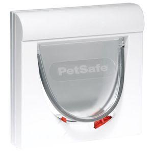 PetSafe Magnetische 4-Wege-Katzenklappe Classic 932 Weiß 5032