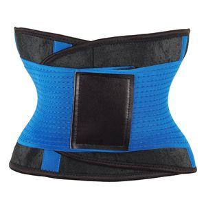 Taillengürtel, Bauchgurt, Fitnessgürtel, Fitnessgürtel, Schweißgürtel, Gürtel Solide Blau M wie beschrieben Taille Cincher