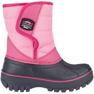 Winter-grip Kinder Schneestiefel Jr Mountain Kid Anthrazit/Rosa/Fuchsia Winter-Schuhe, Größe:29/30