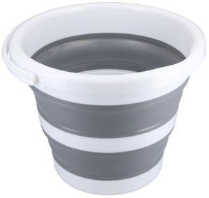 Eimer faltbar 10l - robuster Falteimer 10 Liter Fassungsvermögen für Camping, Haushalt, putzen etc.
