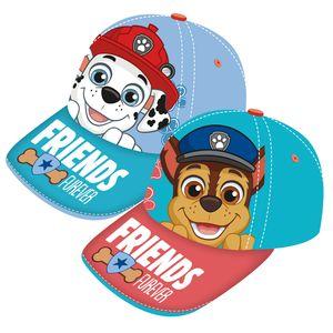 Paw Patrol Auswahl Baseball Cap Kappe Schirmmütze Kinderbaseballcap Chase Marshall (Schirm rot)