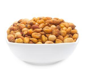 Spicy Corn & Peanut Mix - Würzige Mais und Erdnussmischung - Vorratspackung 3kg