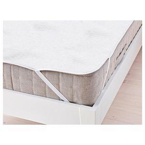 WIS Matratzenschoner aus 100% Baumwolle Schš¹tzende Matratzenunterlage Wasserdicht Atmungsaktiv gegen Milben und Schimmel (160x200cm)