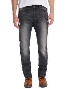 Mustang Oregon Tapered K Herren Slim Fit Sweat Jeans / Used-Bleached-Effekt , Größe*:W36 L30