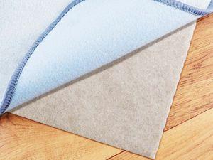 Teppichunterlage Anti-Rutsch-Matte VLIES-STOP - 80x150cm, Zuschneidbar, Fußbodenheizung Geeignet, ohne Kleben, Teppichstopper Teppichgleitschutz-Unterlager