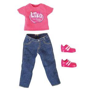 Kleider für Puppen Lisa, 30cm