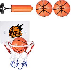 Mini Basketball Korb Set, Mini Basketballkorb mit Bälle und Pumpe Büro Basketballkorb Mini Basketball Brett für Büro, Zimmer, Schlafzimmer, Badezimmer oder Toilette